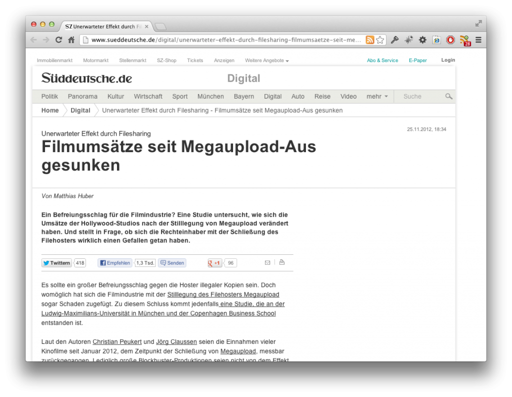 Screenshot Megaupload