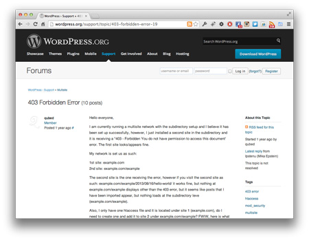Screenshot_WordPress403Fehler