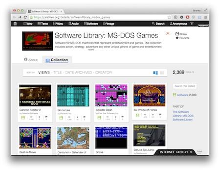 Screenshot DOS Games