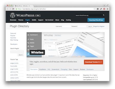 Screenshot Whistles